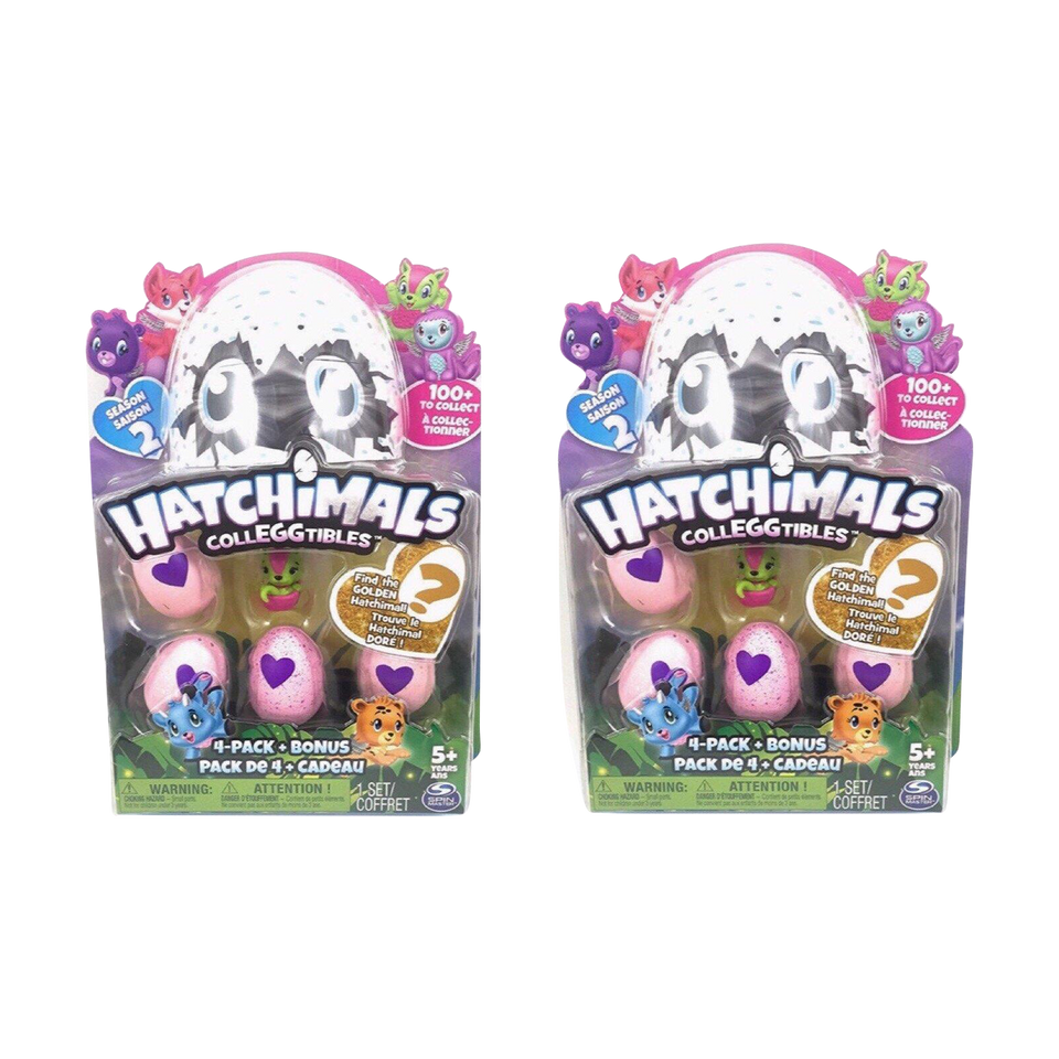 Hatchimals CollEGGtibles 8-Pack & Bonus Season 2 Pink Eggs