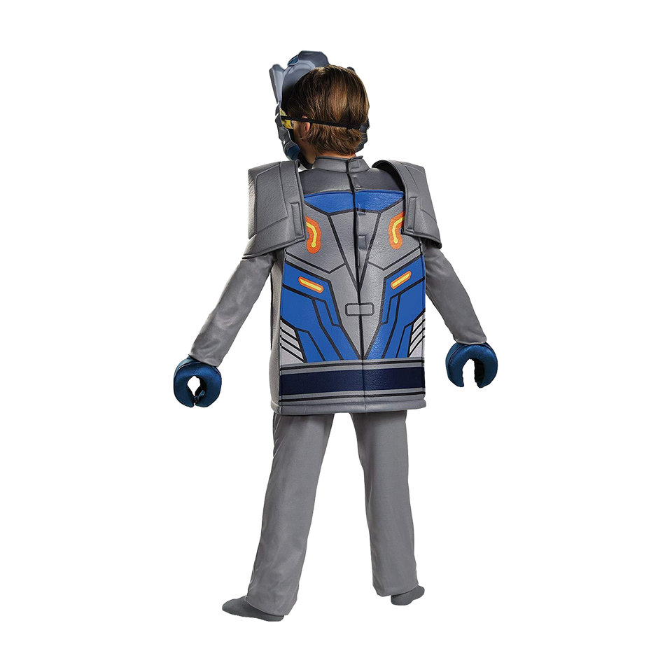 Lego Nexo Knights Clay Prestige size M 7/8 Boys Costume Disguise