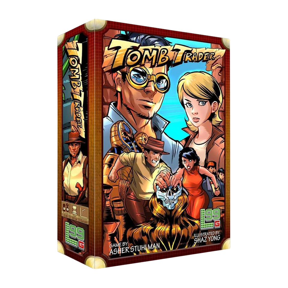 Games Tomb Trader Archaeological Excavation Board Game