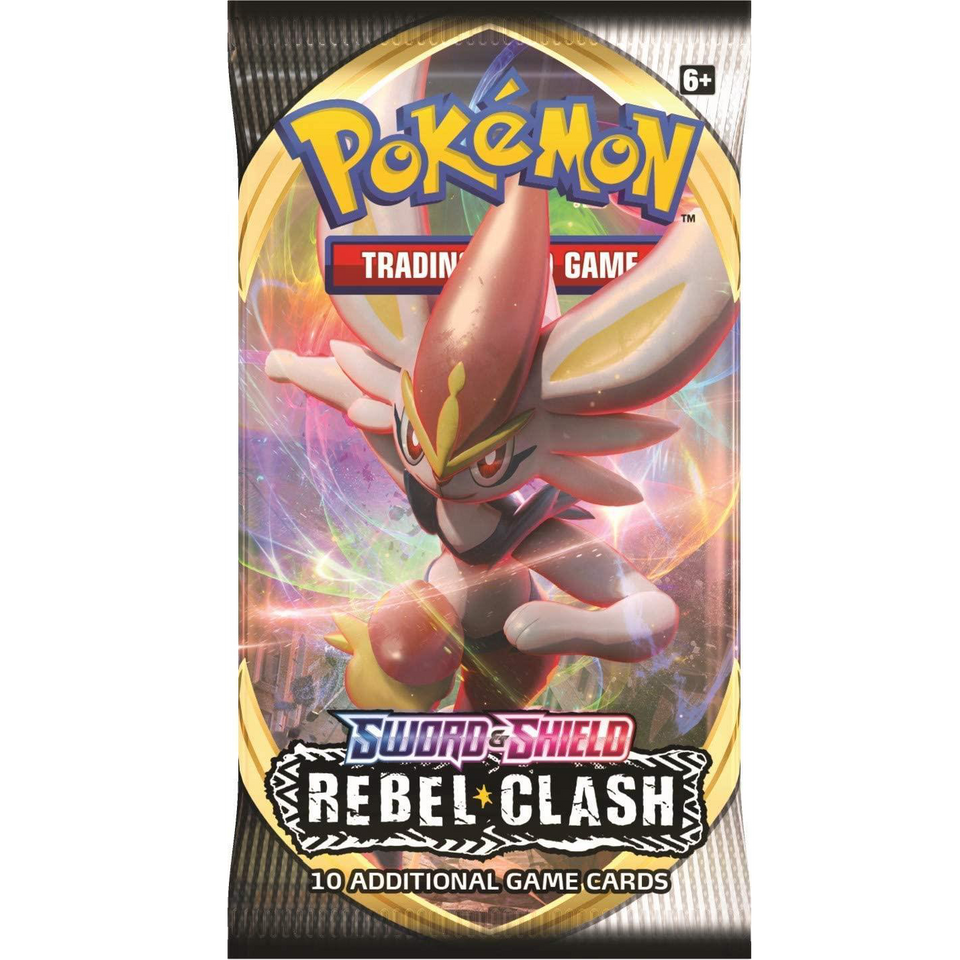 Pokemon Sword & Shield Rebel Clash Booster Box Trading Card Game