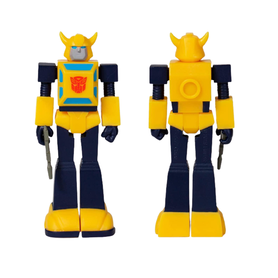Transformers Bumblebee Reaction Figure - Articulated (Retro)