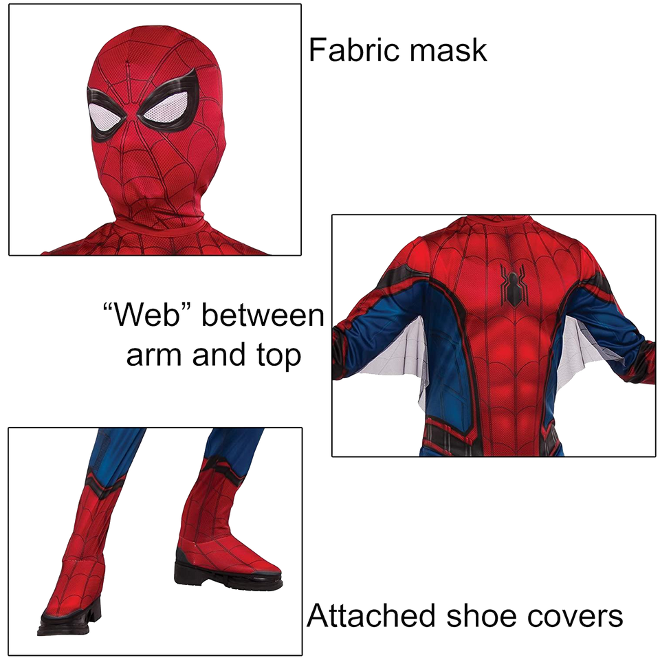 Marvel Spider-Man Far from Home Size Boys Costume Licensed - Medium (8-10)