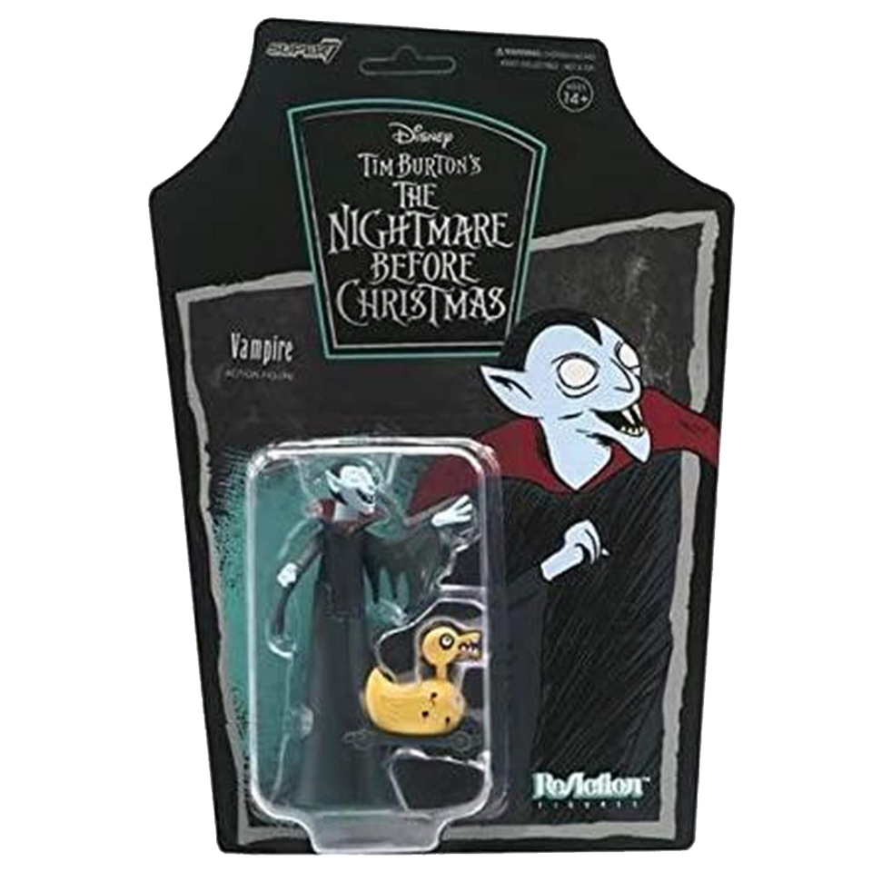Nightmare Before Christmas Vampire Reaction Figure Tim Burton Wave 1 Collectible