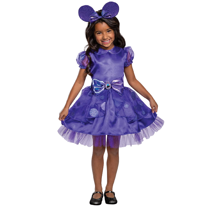 Disney Minnie Mouse Purple Potion Toddler Girls Costume - Medium (3T/4T)