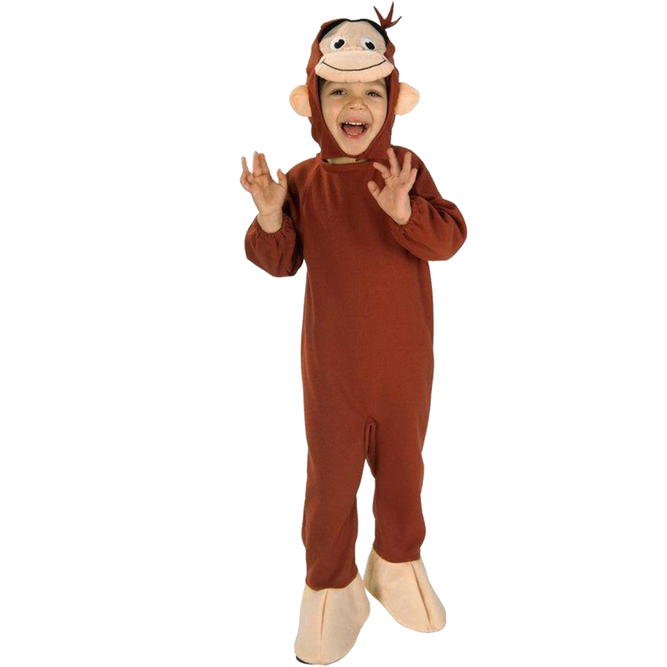 Curious George Toddler Officially Licensed Costume - (2/4)