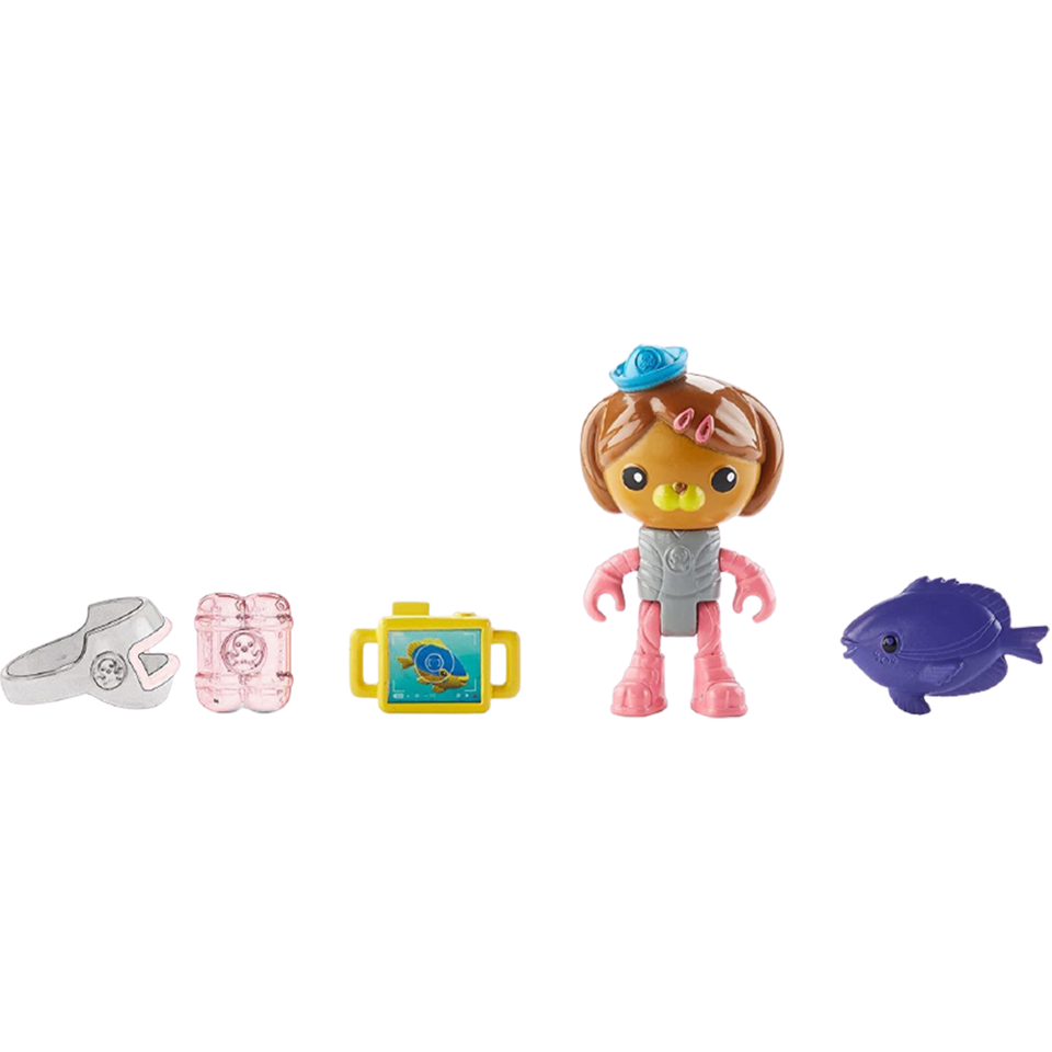 Octonauts Dashi & The Damselfish Interactive Set