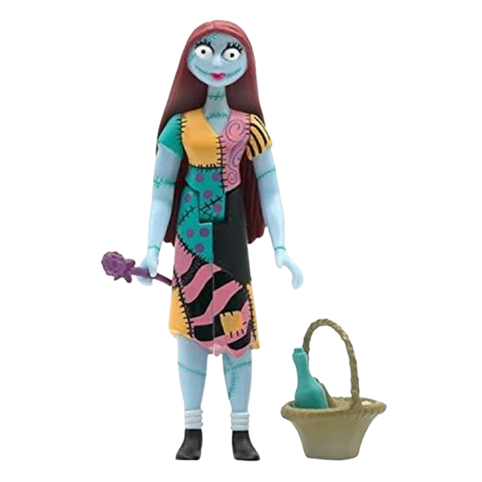 Nightmare Before Christmas Reaction Sally Wave 1 Action Figure - Articulated (Retro)