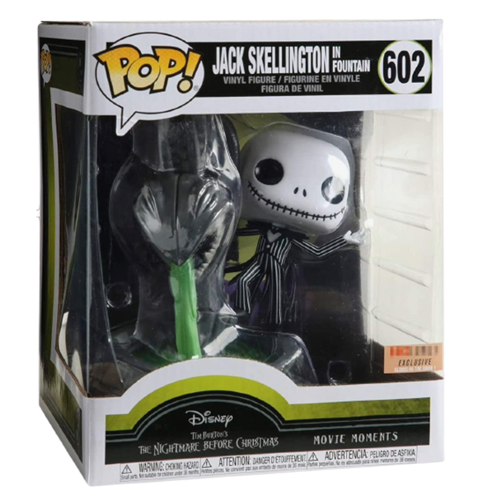 Disney Jack Skellington Fountain Night Before Christmas Exclusive Figure