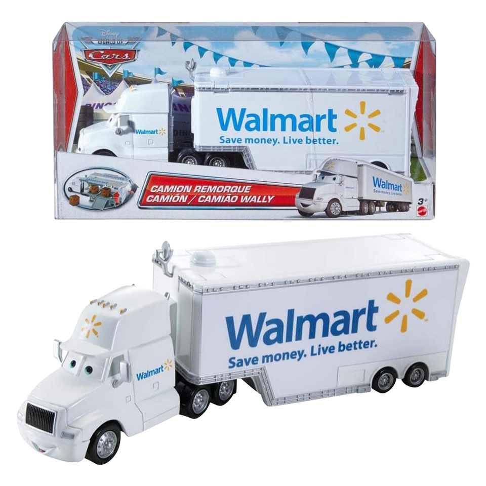 Disney Pixar Cars Wally Hauler Walmart Exclusive Die-Cast Vehicle 1:55 Scale Mattel
