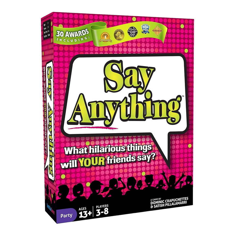 Say Anything Card Party Game Fun Get to Know Questions