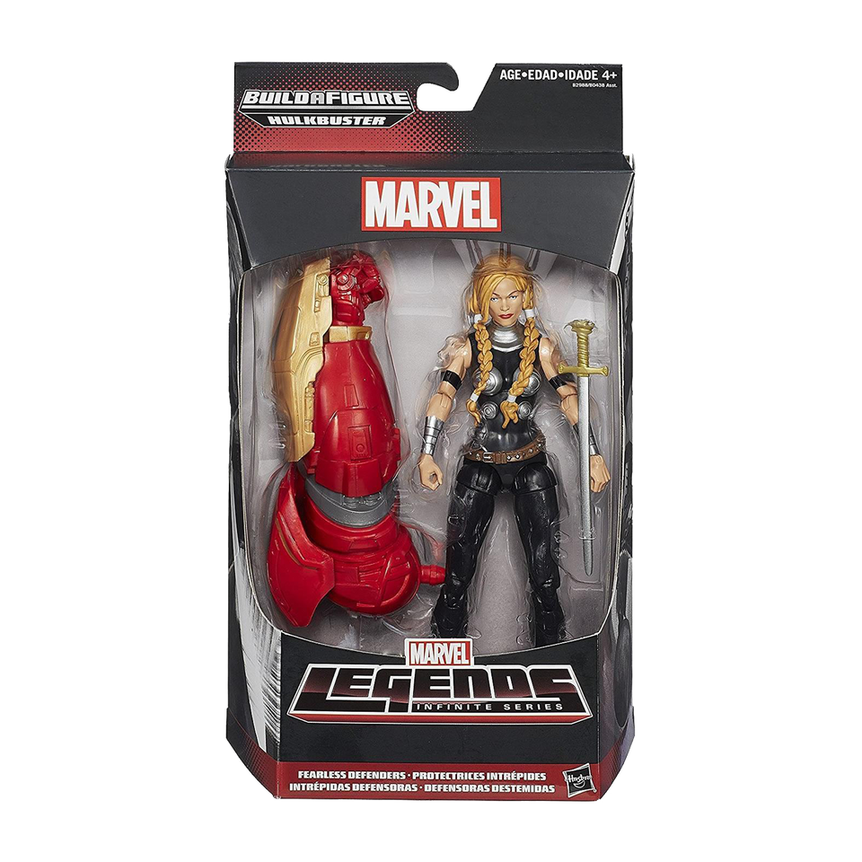 Marvel Legends Infinite Series: Fearless Defenders Valkyrie Action Figure Toy Hasbro B2988AS0