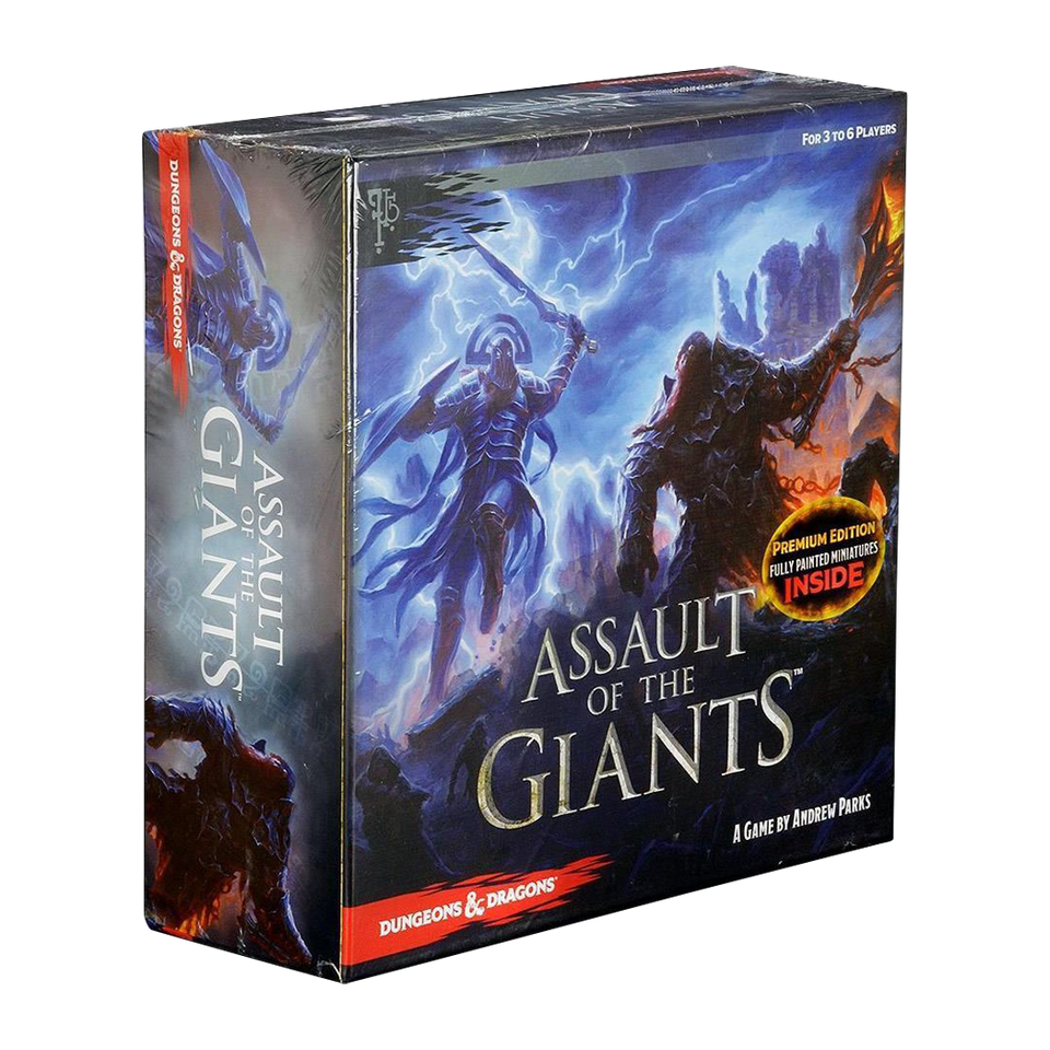 WizKids Dungeons & Dragons Assault of the Giants Board Game Premium Edition Miniatures Figures