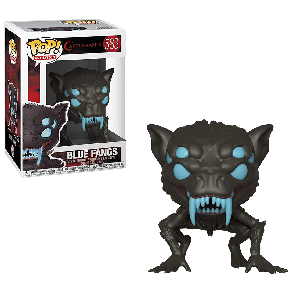 Animation Castlevania Blue Fangs Collectable Vinyl Figure