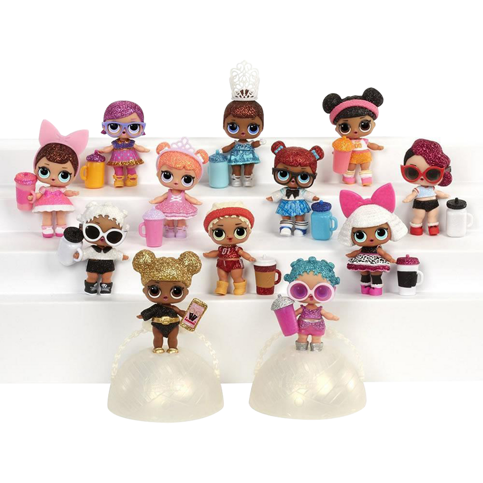 MGA L.O.L. Surprise! Glitter Series Limited Edition Doll Figure Set 3 Pack