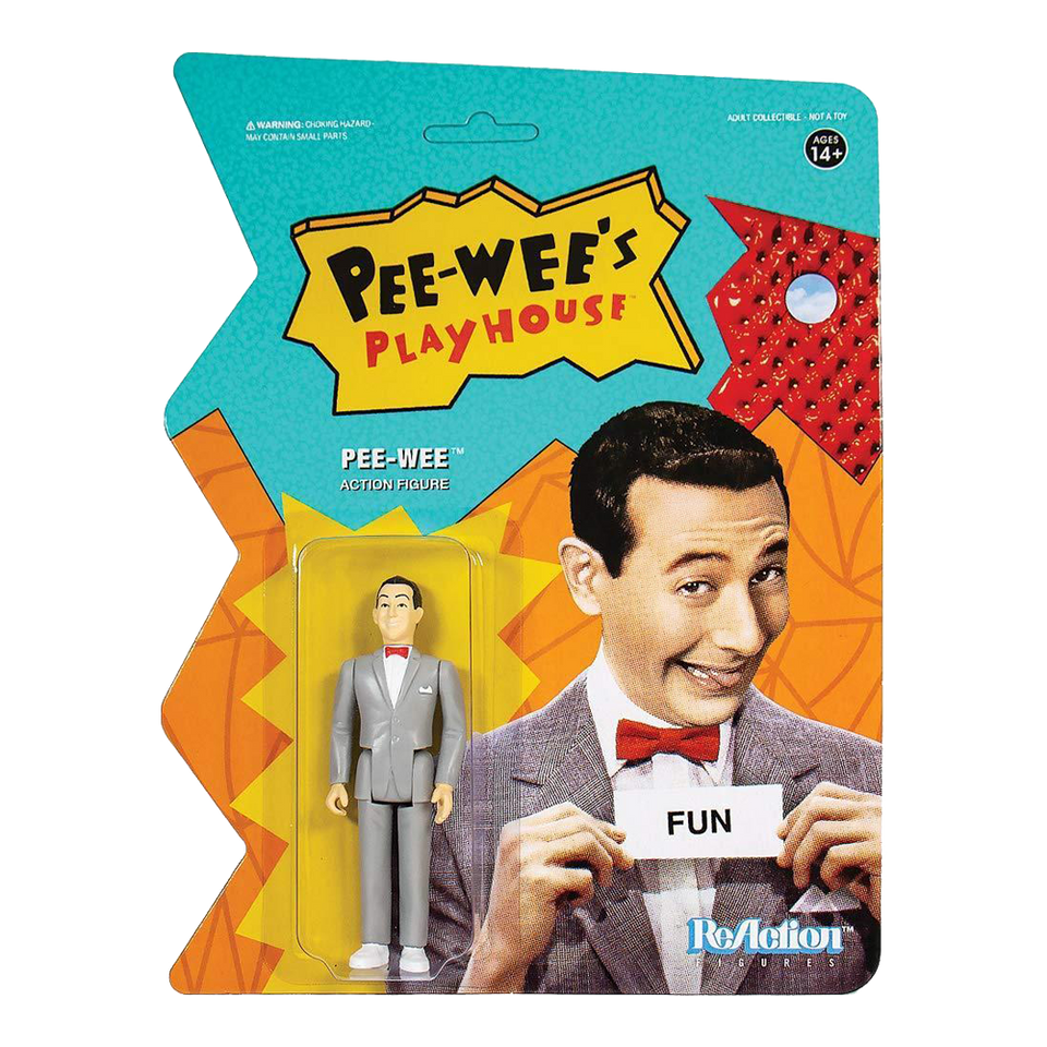 Pee Wee's Playhouse Pee-Wee Reaction Collectible Action Figure - Articulated (Retro)