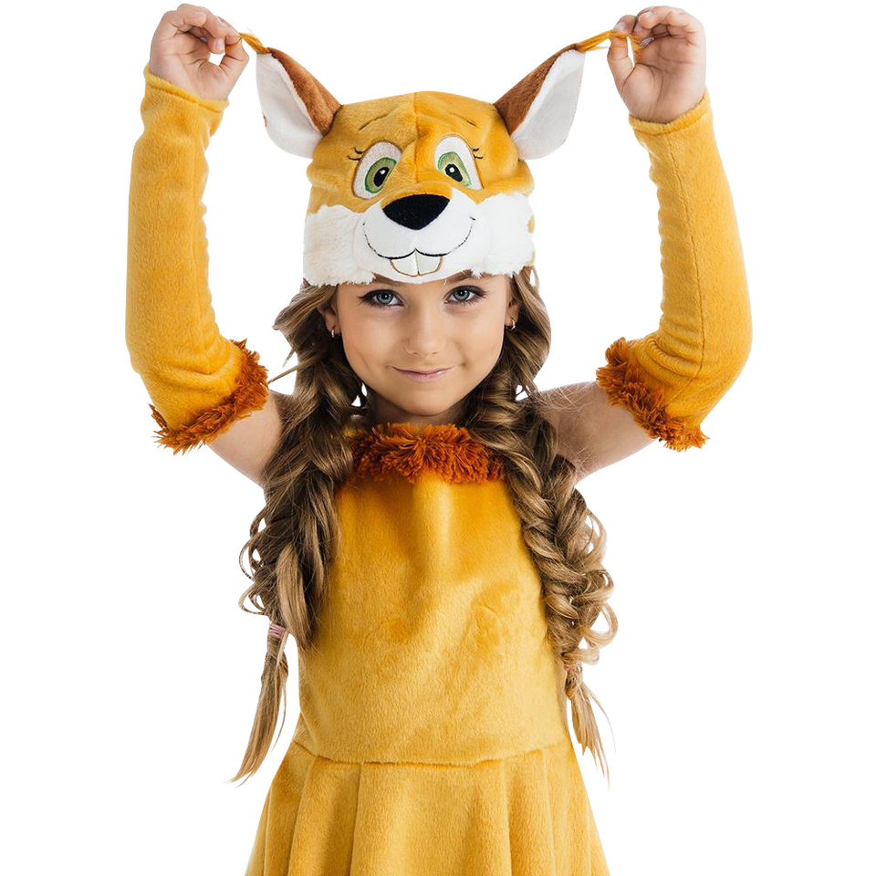 Fairy Tail Squirrel Nutty size XS Chipmunk Girls Plush Costume Dress-Up Play Kids 5 O'Reet