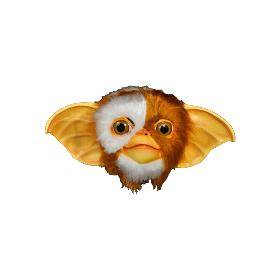 GREMLINS Gizmo Mask Large Synthetic Hair Halloween Latex Trick Or Treat Studios