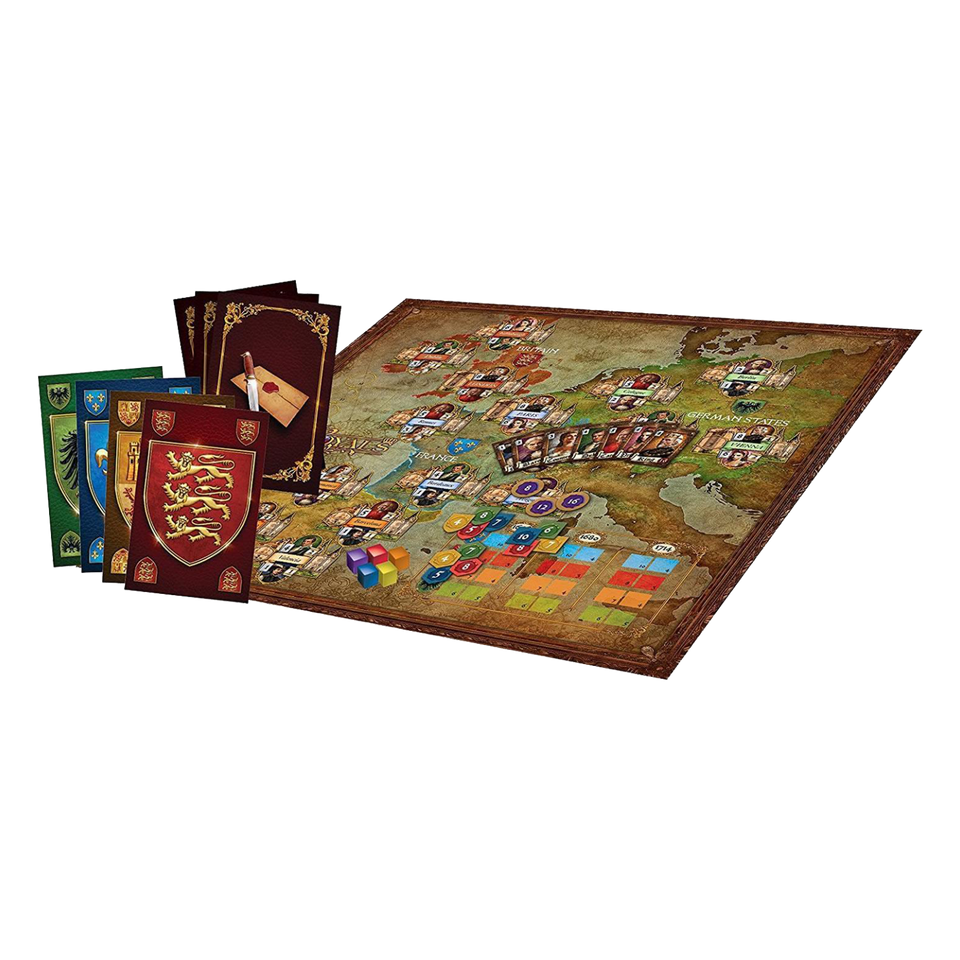 Royals Board Game 17th Century Europe Great Noble Houses Supremacy Strategy Territory