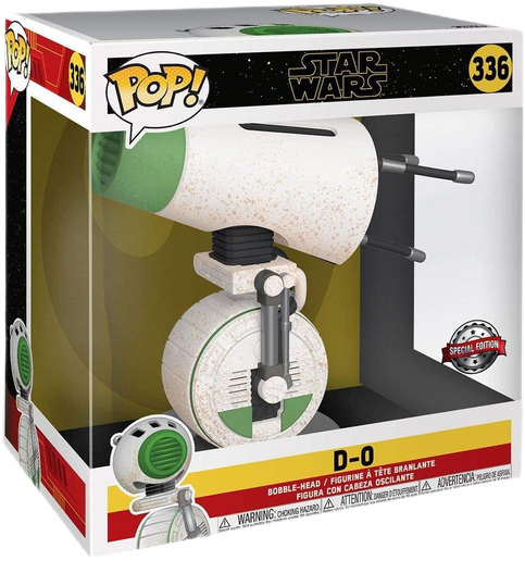 Funko Pop Star Wars D-0 Episode IX Super Sized Bobble-Head Special Ed Figure