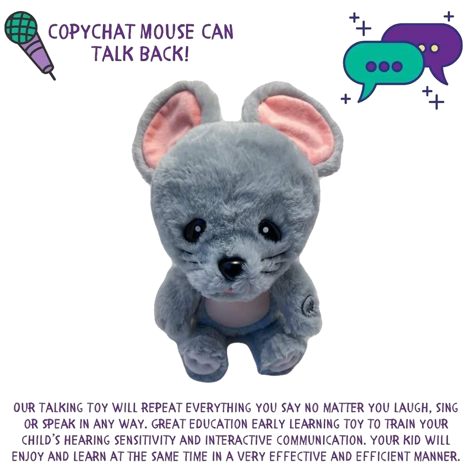 Copy Chat Plush - Mouse
