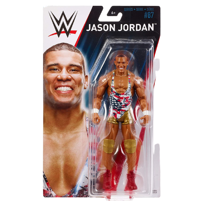 WWE Jason Jordan Wrestler Poseable Action Figure Collectable