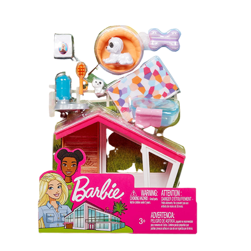 Barbie Dog House Indoor Accessory Pack Colorful Interactive