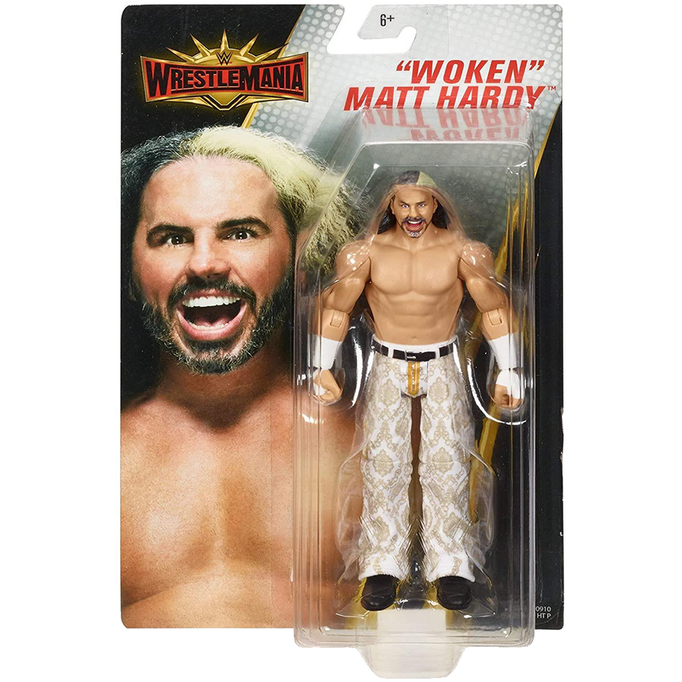 Wrestlemania Woken Matt Hardy WWE Wrestling Action Figure