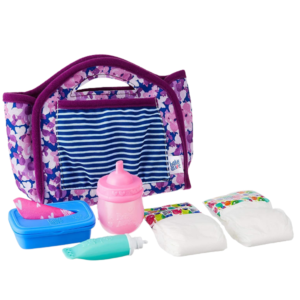 Baby Alive Diaper Bag Refill Doll Childs Toy Accessory