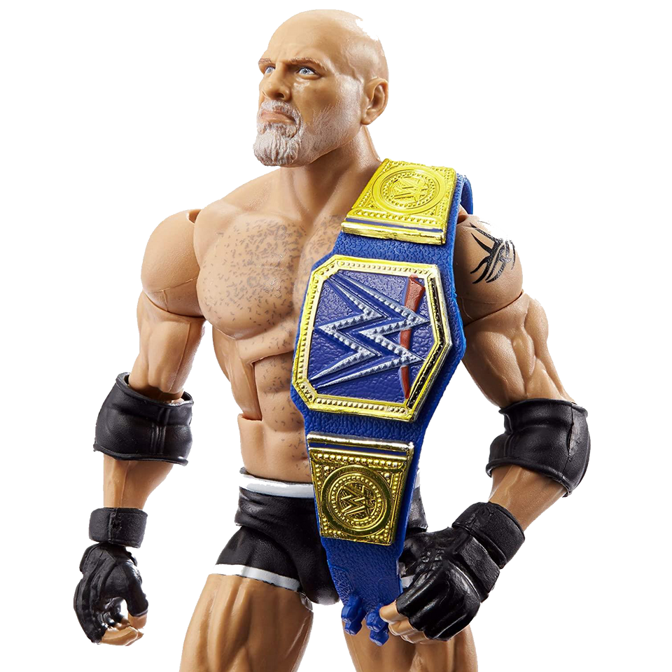 WWE WrestleMania Elite Collection Goldberg Universal Champion HOF Wrestler