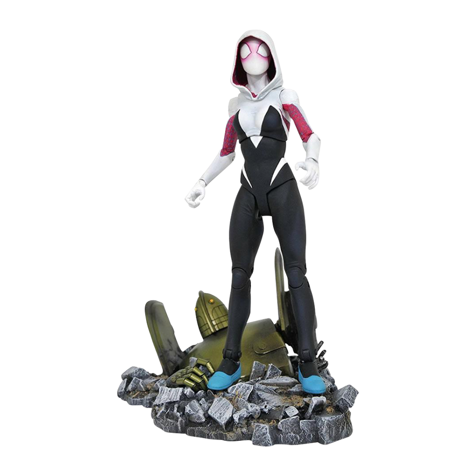 Marvel Select Spider-Gwen Deluxe Collectors Figure Diamond