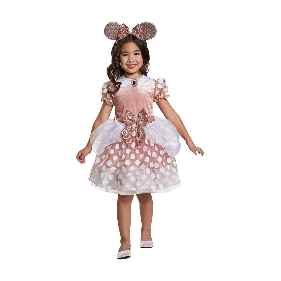 Disney Rose Gold Minnie Classic Toddler Costume - (2T)