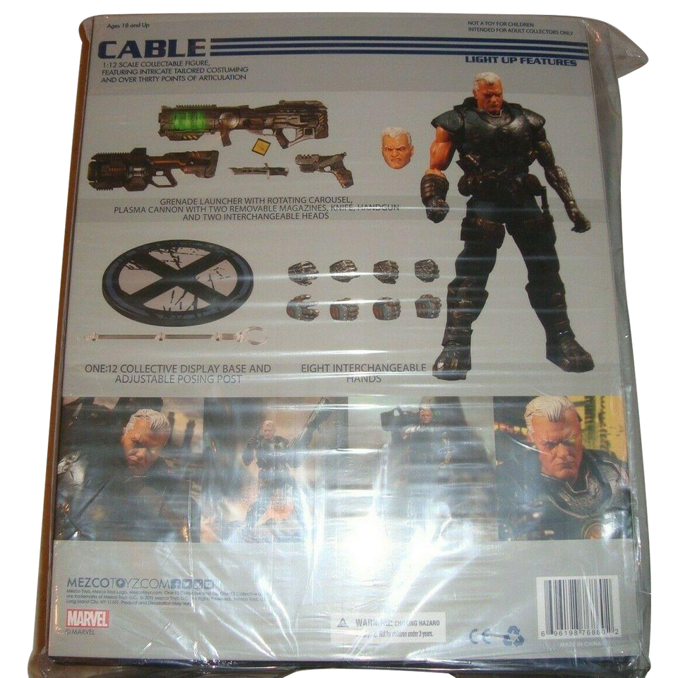 One 12 Collective Marvel Cable Action Figure