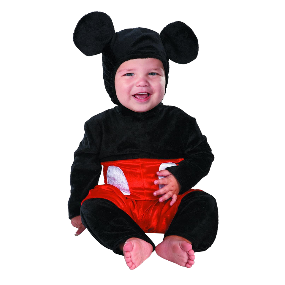 Disney Mickey Mouse Prestige Infant Licensed Baby Costume - MO (6-12)