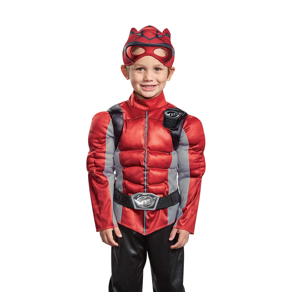 Red Ranger Beast Morpher Muscle Toddler size S 2T Costume Licensed Disguise