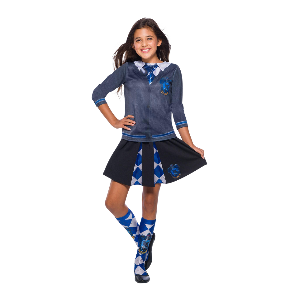 Harry Potter Ravenclaw Socks Adult Costume Accessory