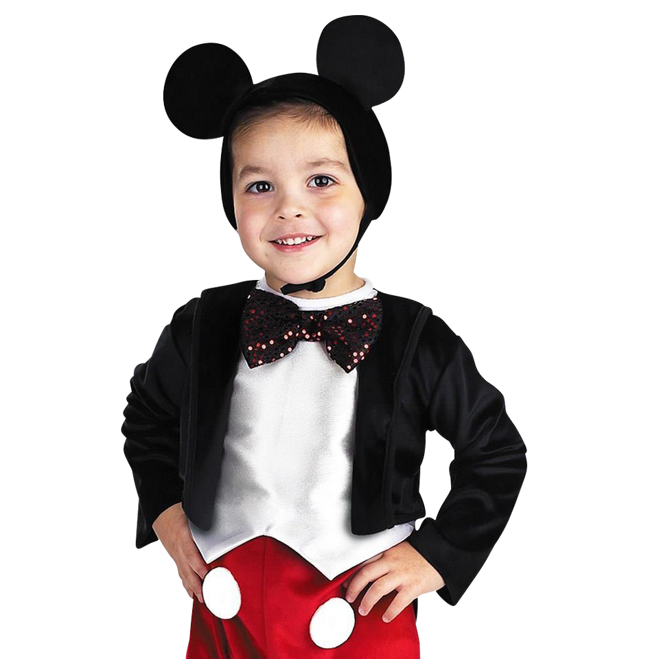 Disney Mickey Mouse Deluxe Kids Licensed Costume Outfit - Medium (3T/4T)