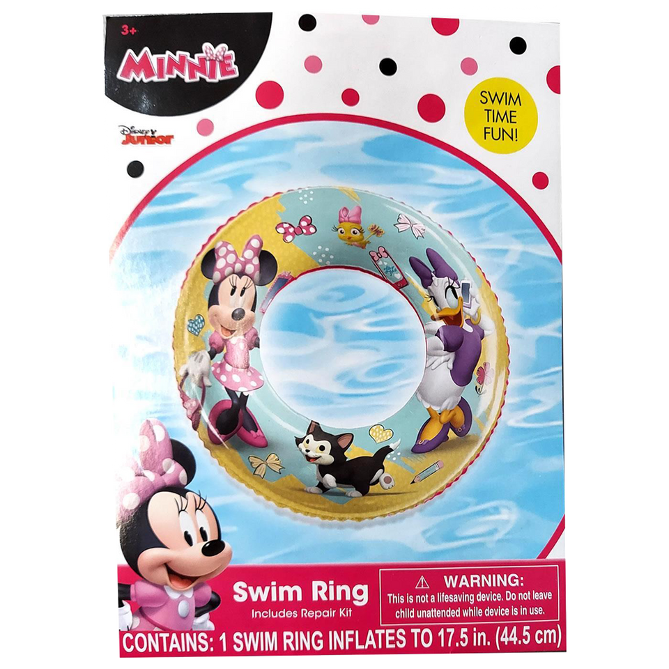 Disney Minnie Mouse Bowtique Swim Ring Daisy Swimming Pool Float Water Fun