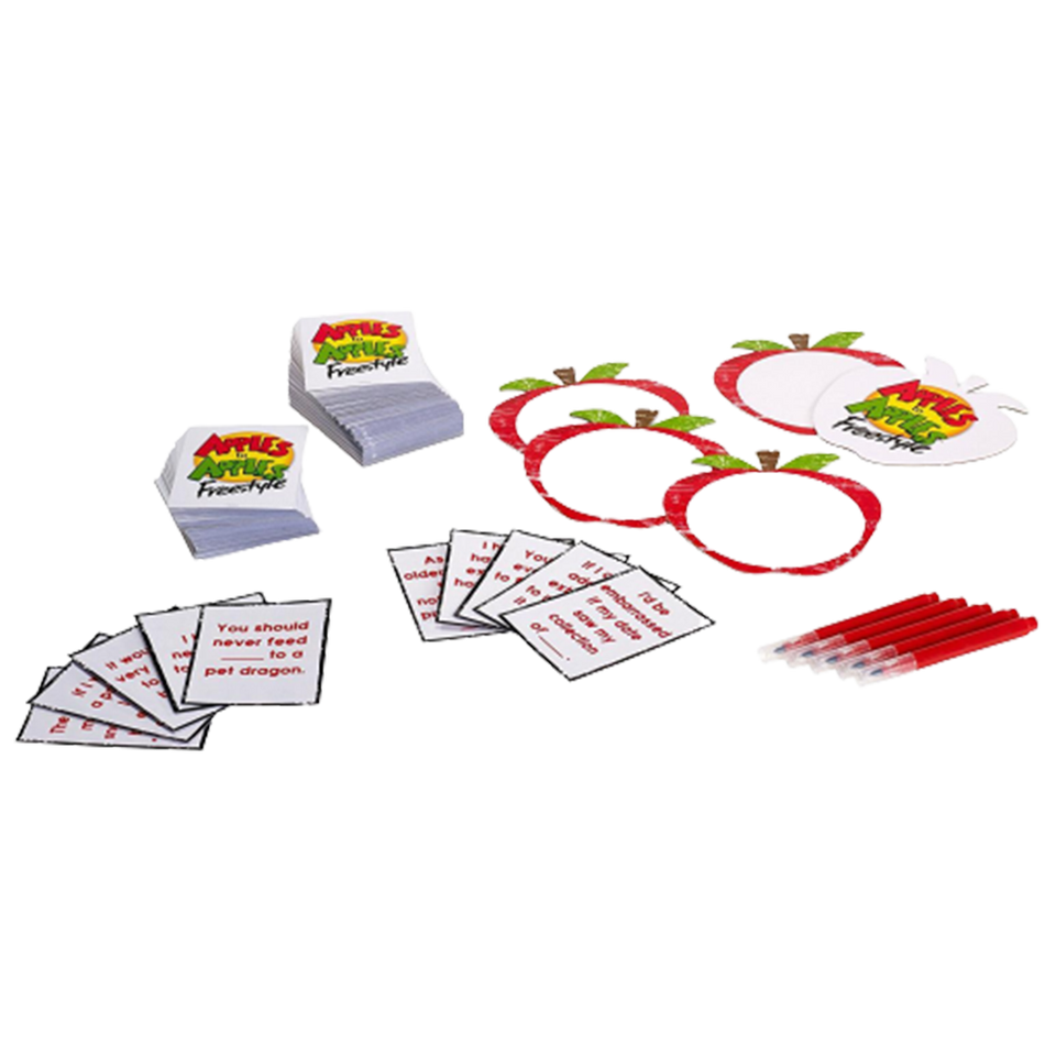 Apples to Apples Freestyle Action Game Hilarious Word Play Family Fun