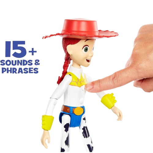 Disney Pixar Toy Story 4 True Talkers Jessie Figure Posable Talking Character