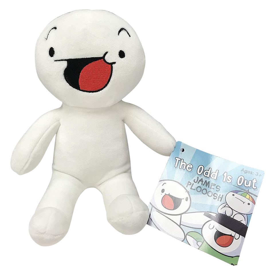 "The Odd 1s Out 8"" James Plooosh Plush Toy UCC"