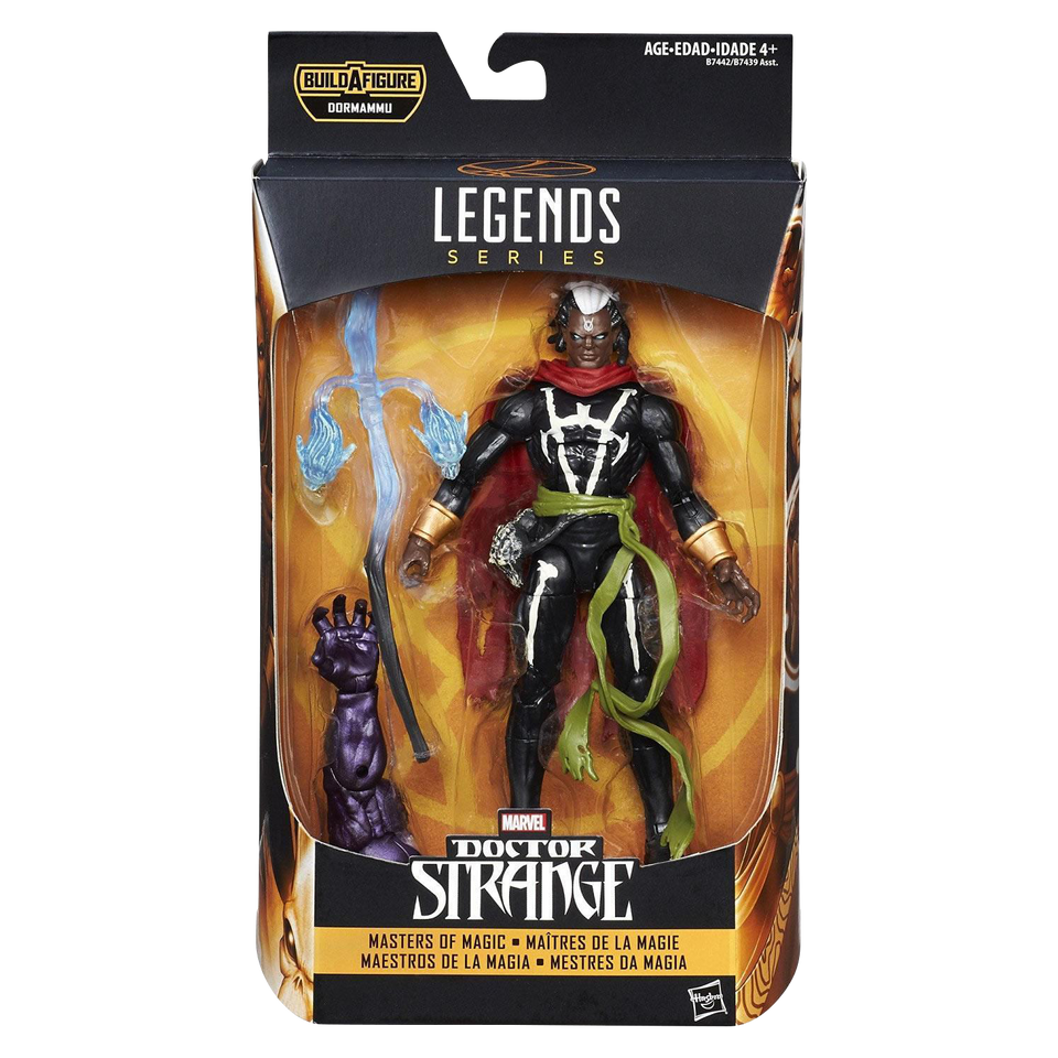 Marvel Legends Masters of Magic: Brother Voodoo Comic Sorcerer Action Figure
