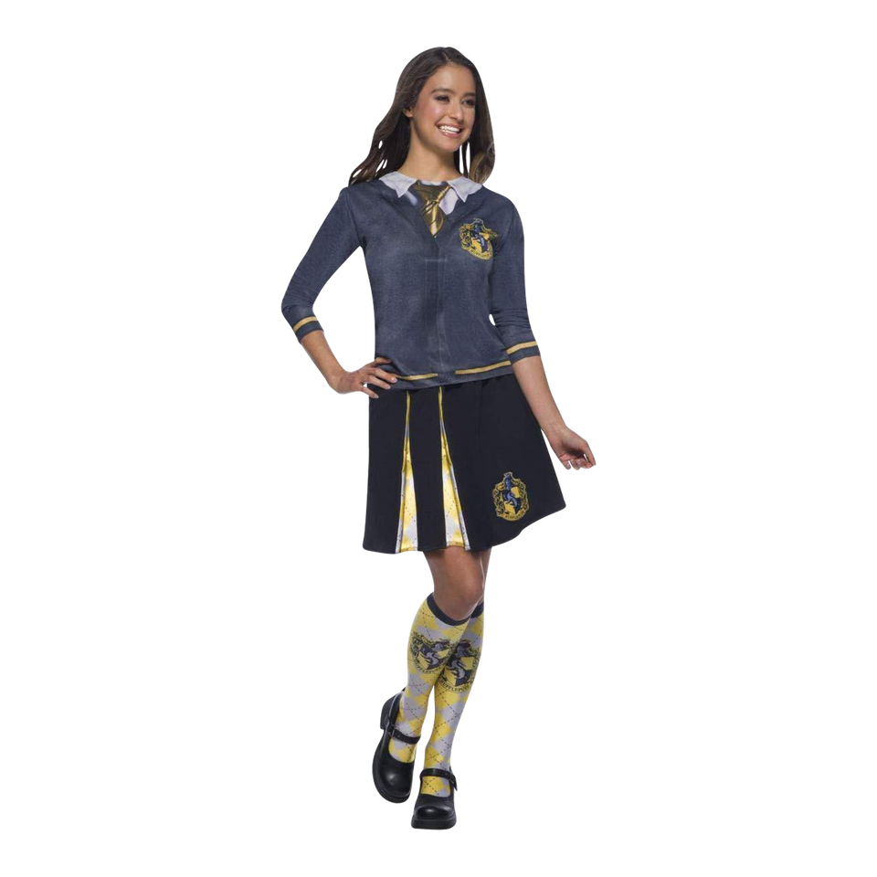 Harry Potter Hufflepuff Socks Adult Costume Accessory