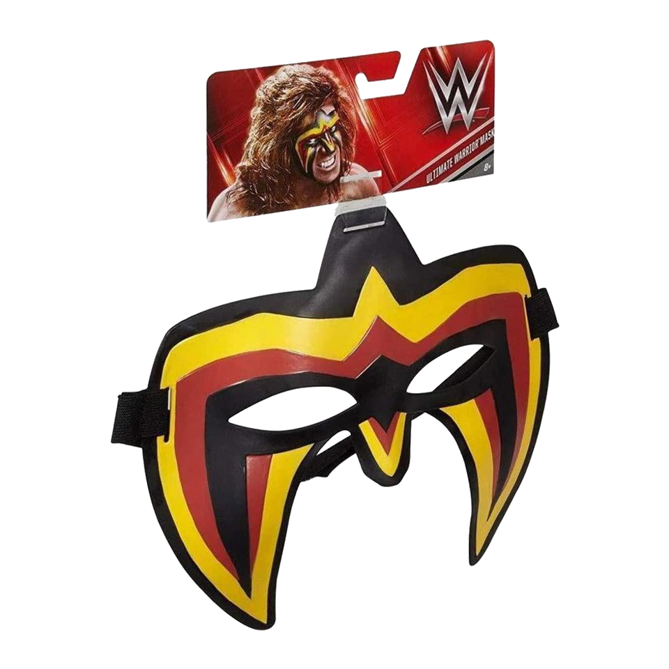WWE The Ultimate Warrior Mask Wrestling Superstar Headgear Mattel