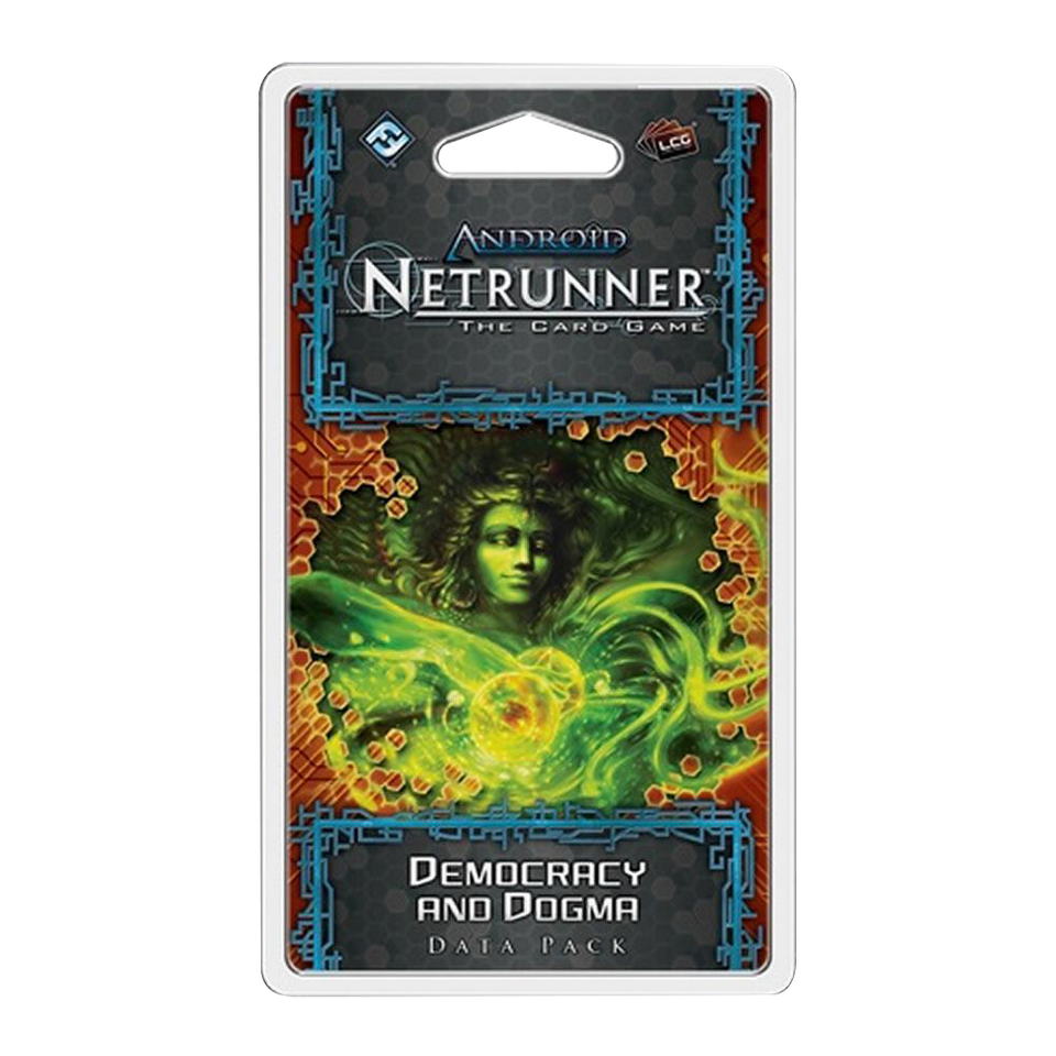 Android: Netrunner LCG Democracy & Dogma Data Pack Card Game Nero Severn