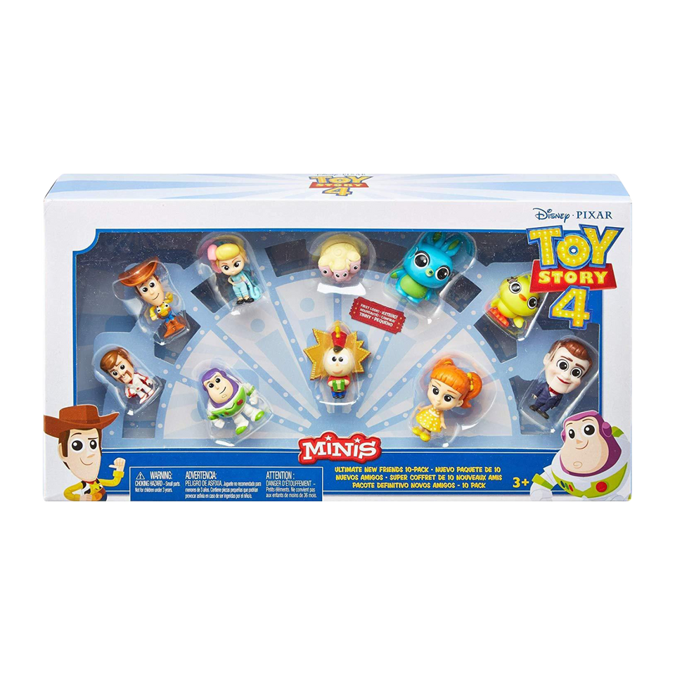 Disney Pixar Toy Story 4 Minis 10-Pack Ultimate New Friends