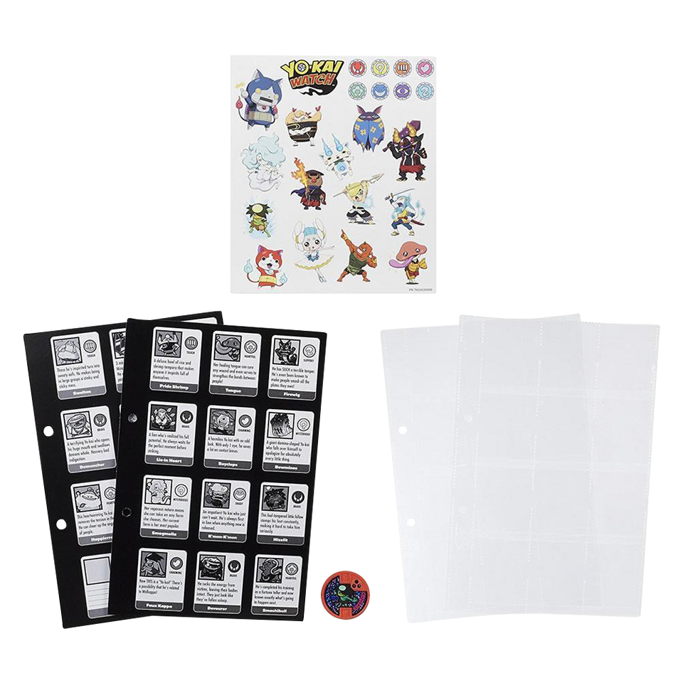 Yo-kai Watch Series 1 Medallium Book Pages Collection Beetall Medal