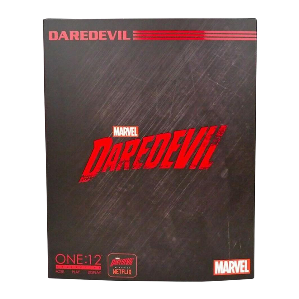 One: 12 Marvel Netflix Daredevil Figure Mezco Toyz Collective Charlie Cox JUN188770
