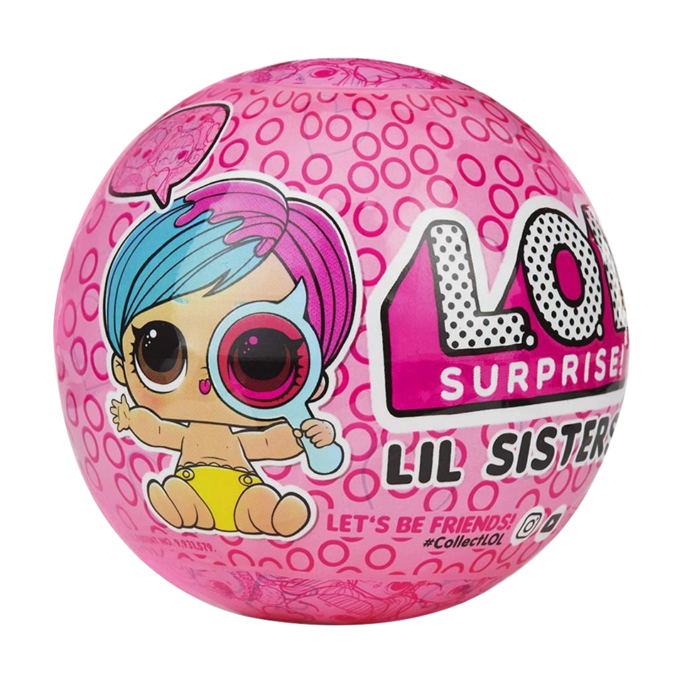 L.O.L. Surprise! Eye Spy Lil Sisters Doll Ball Wave 2 Series