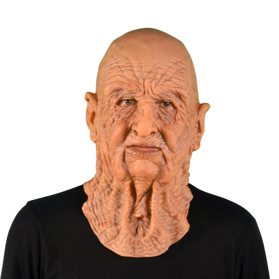 Old Man DOA Dead On Arrival Mask Supersoft Realistic Zagone Studios