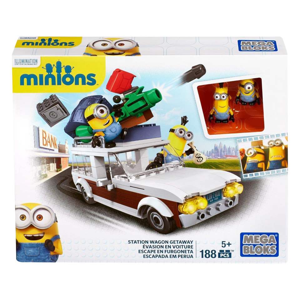 Minions Station Wagon Getaway Despicable Build - Kevin Stuart Vehicle
